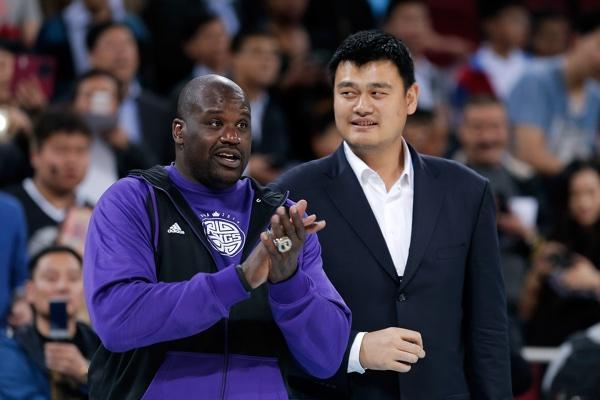 Shaquille O'Neal, Sacramento Kings, Yao Ming
