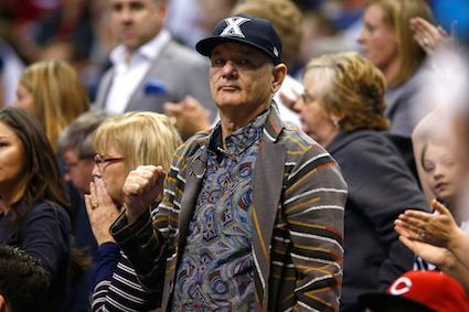 Bill Murray At Xavier Game