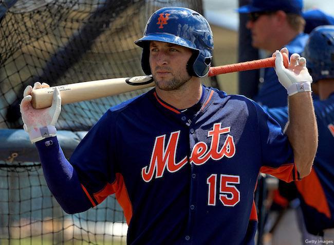Tim Tebow, New York Mets