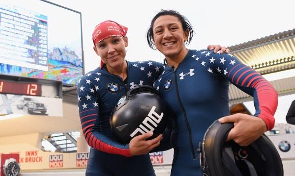Lolo Jones, Elana Meyers Taylor