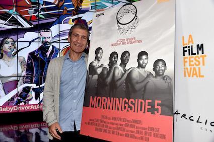 Mike Tollin At Morningside 5 Screening