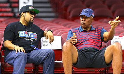Ice Cube, Julius Erving