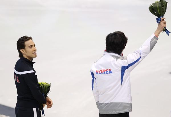 Apolo Ohno, Lee Jung-Su
