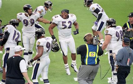 Ray Lewis And Baltimore Ravens
