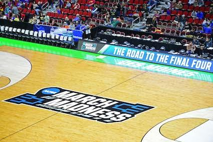 NCAA March Madness Floor Logo