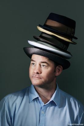 David Koechner Hats