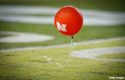 Nebraska Football Balloon