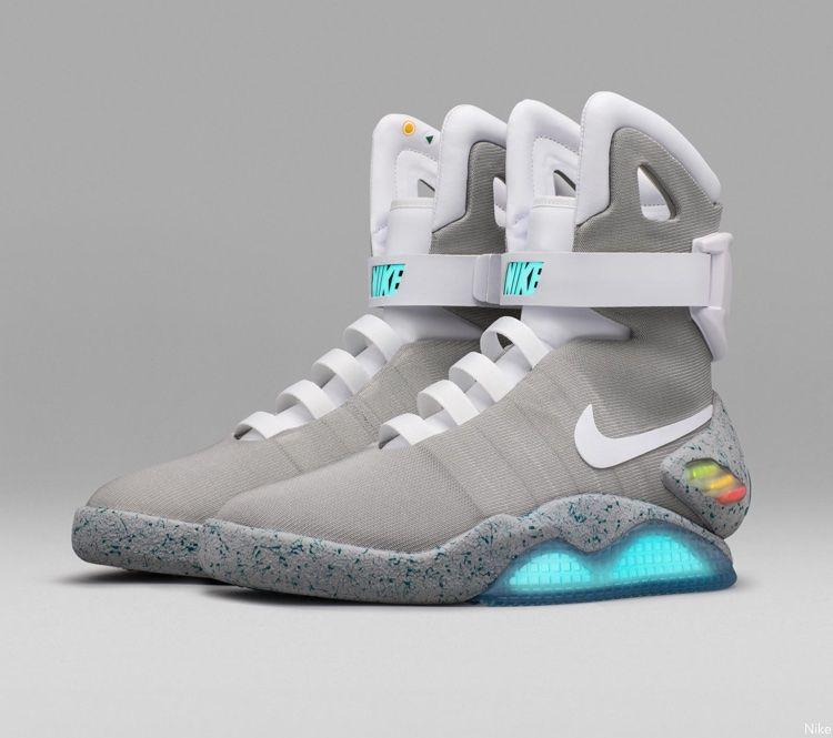 Future' Power-Lacing Nike Mag Sneakers