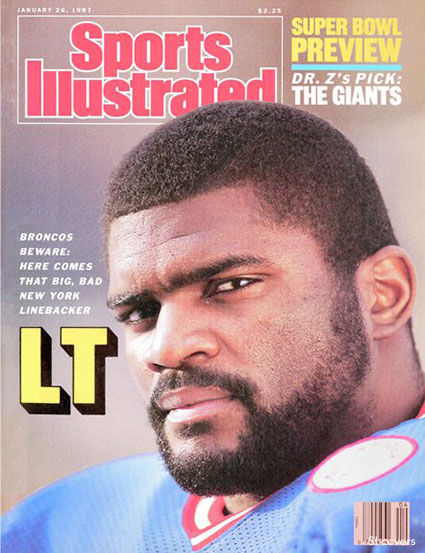 Lawrence Taylor SI Cover