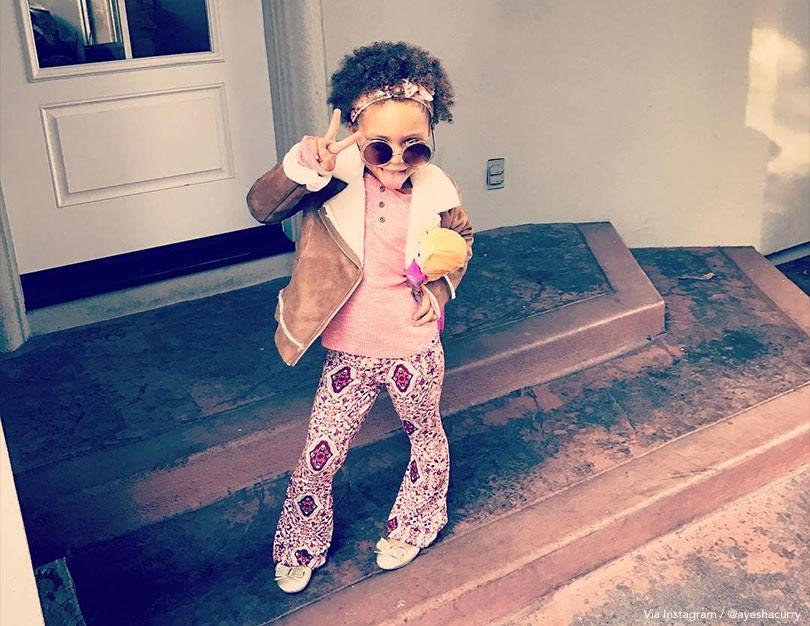 Riley Curry: 70s Flower Child