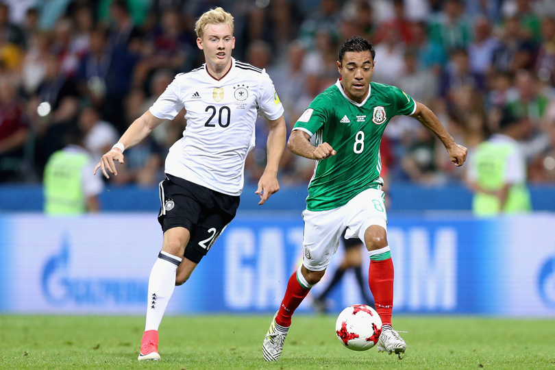 Group F: Germany vs. Mexico (June 17, 10 a.m.)