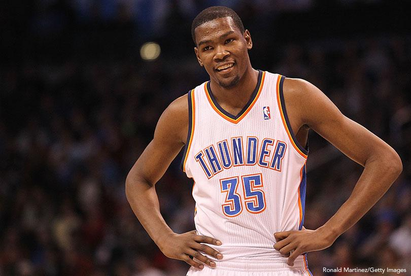 Kevin Durant -- 44 Points (2010)