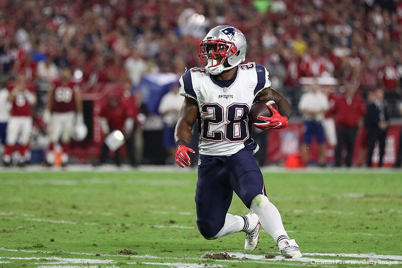14 Receptions By James White