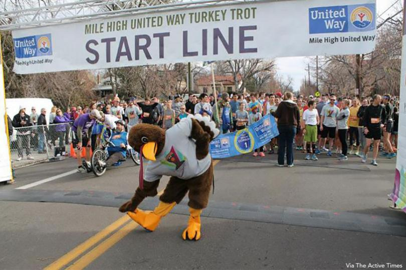 Mile High United Way Turkey Trot, Denver