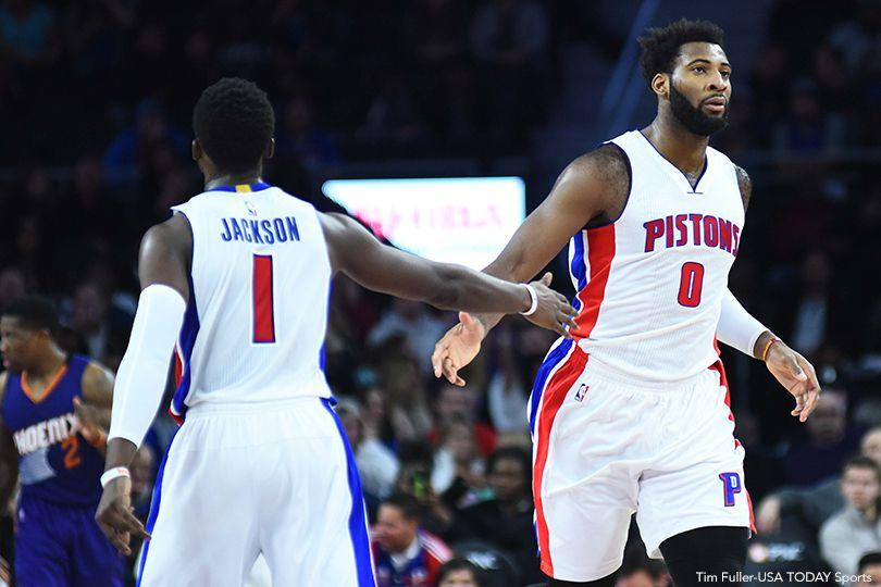 Reggie Jackson And Andre Drummond