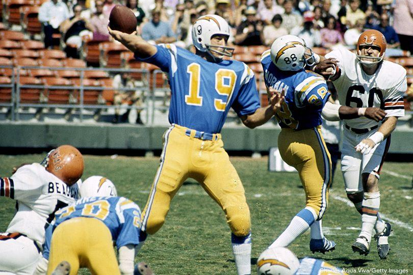 Johnny Unitas, Chargers