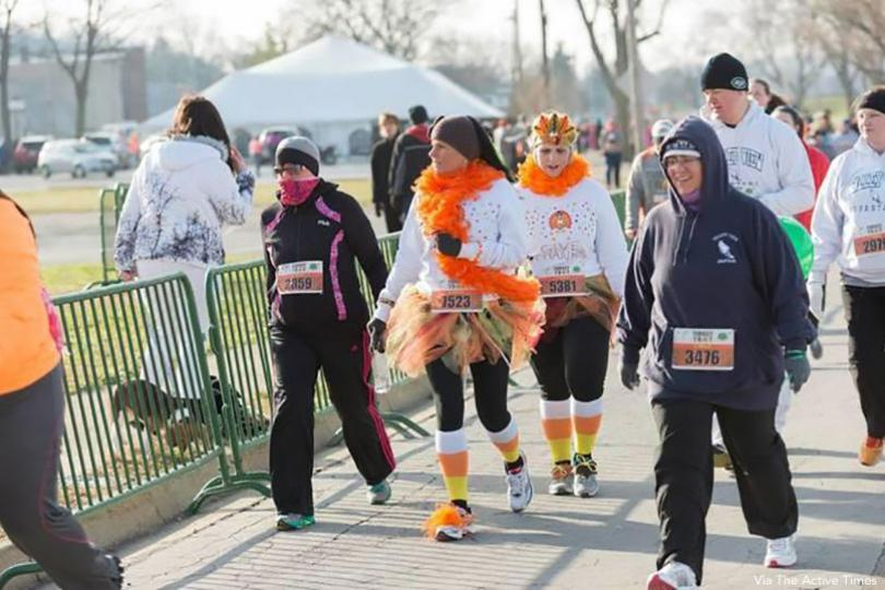 Ohio River Road Runners Club Turkey Trot, Miamisburg, Ohio