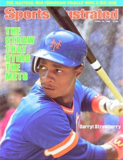 Darryl Strawberry SI Cover 1984