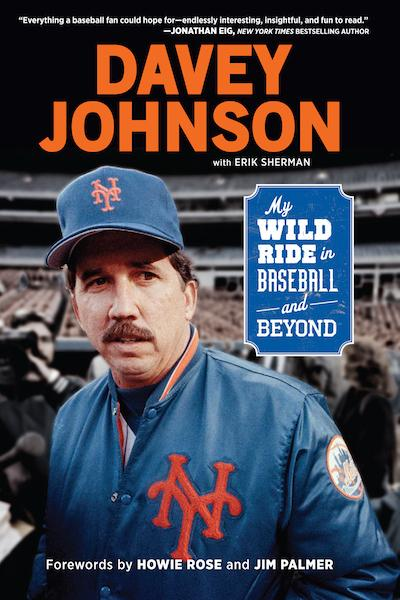 Davey Johnson Book Cover
