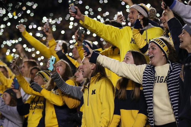 Michigan Wolverines Football Fans
