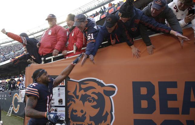 Allen Robinson, Chicago Bears Fans