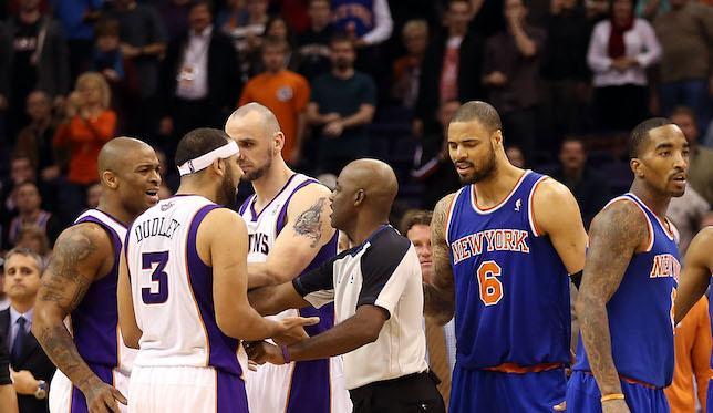 Haywoode Workman: Suns-Knicks