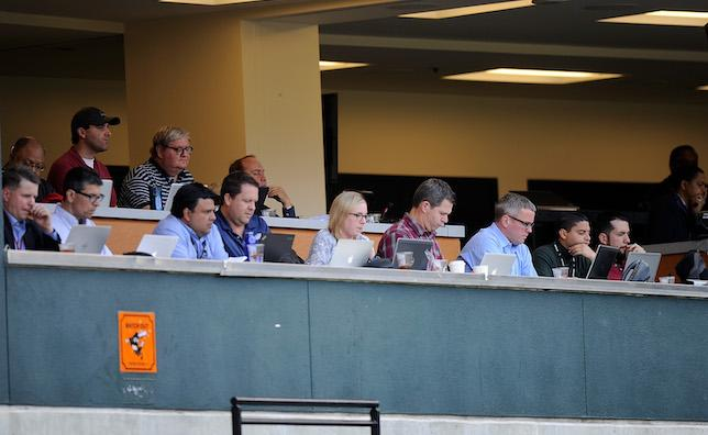 MLB Press Box