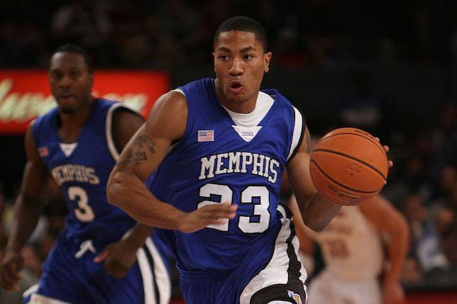 Derrick Rose At Memphis