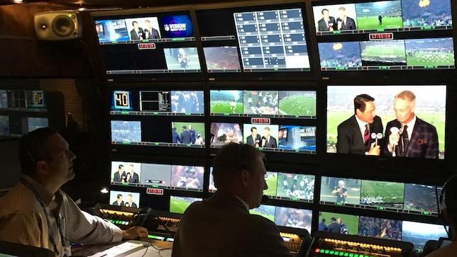 NFL Fox In London Production Truck