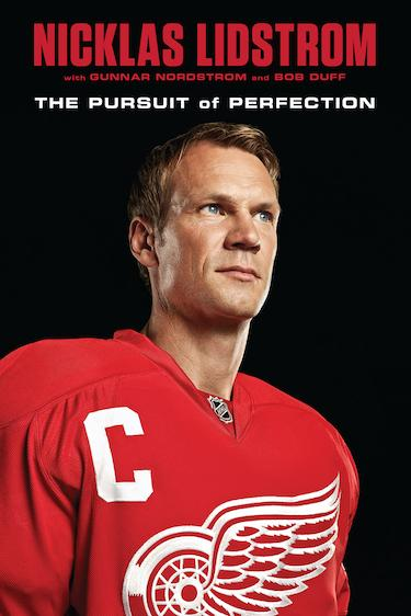 Nicklas Lidstrom Book Cover