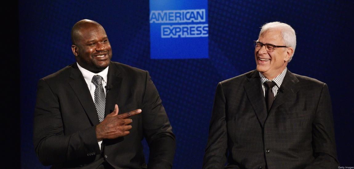 Shaquille O'Neal, Phil Jackson