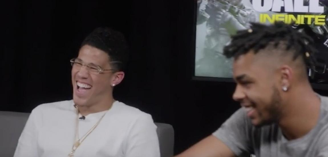 Devin Booker, D'Angelo Russell