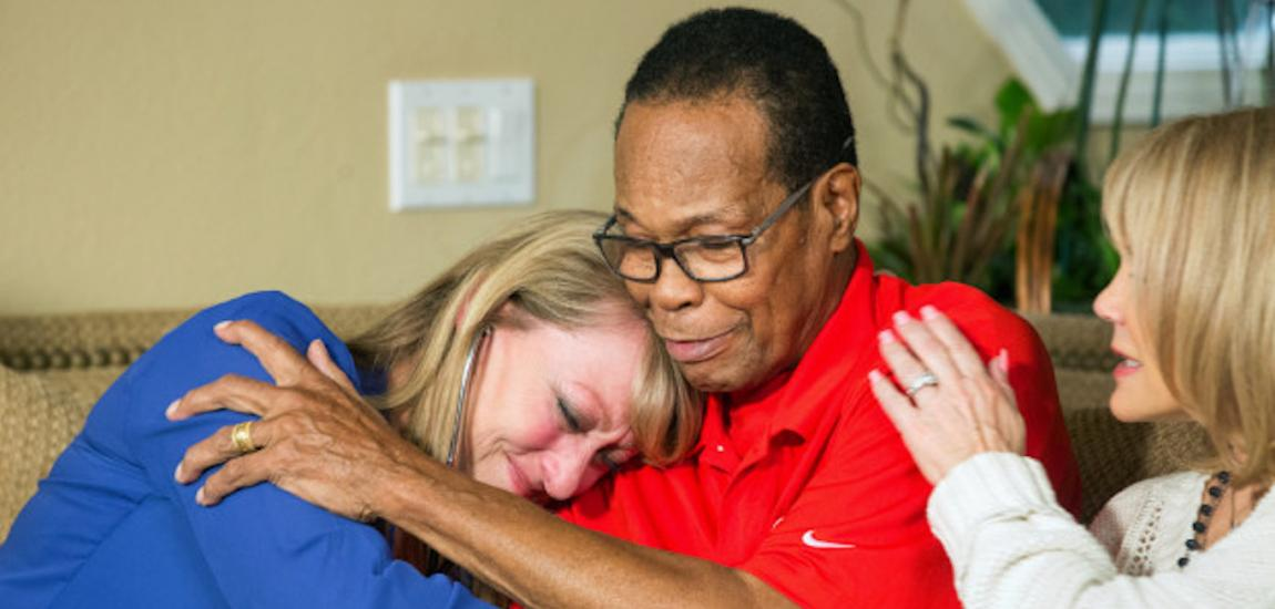 Mary Reuland, Rod Carew