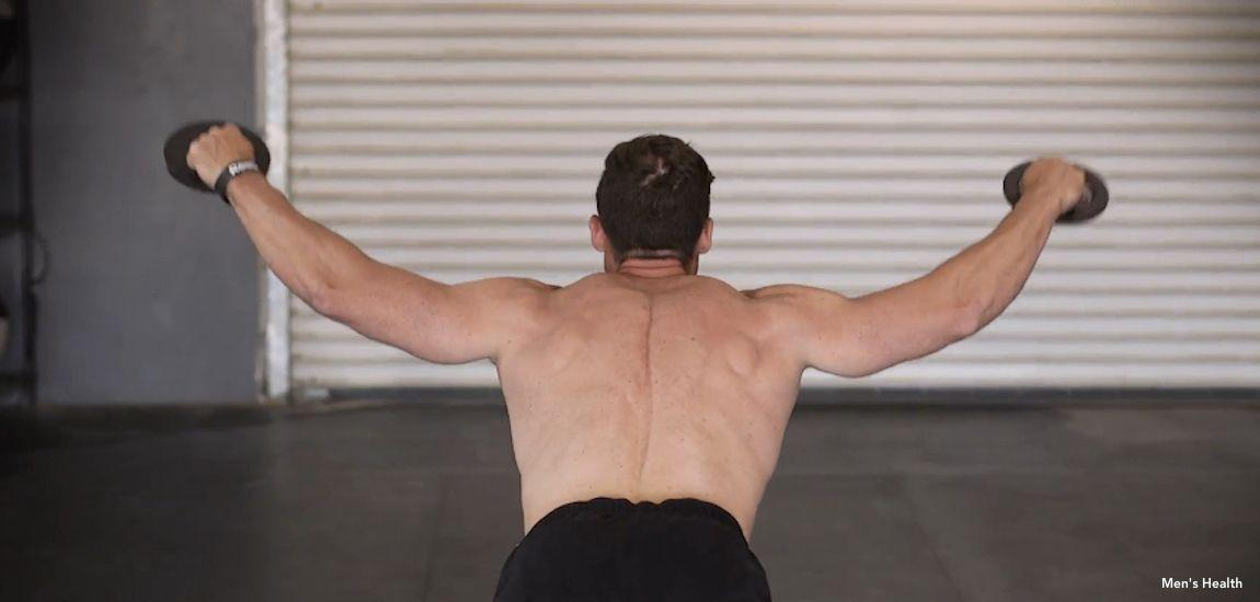 Cory Gregory's Shoulder Workout