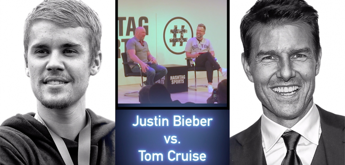 Justin Bieber, Tom Cruise, Dana White