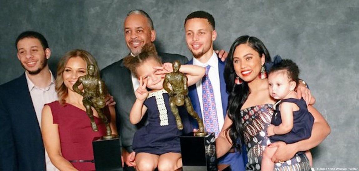 Stephen Curry And Family