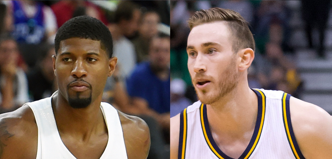 Paul George, Gordon Hayward