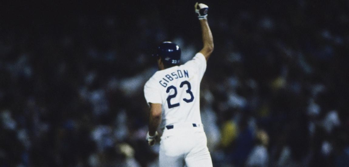 Kirk Gibson, 1988 World Series