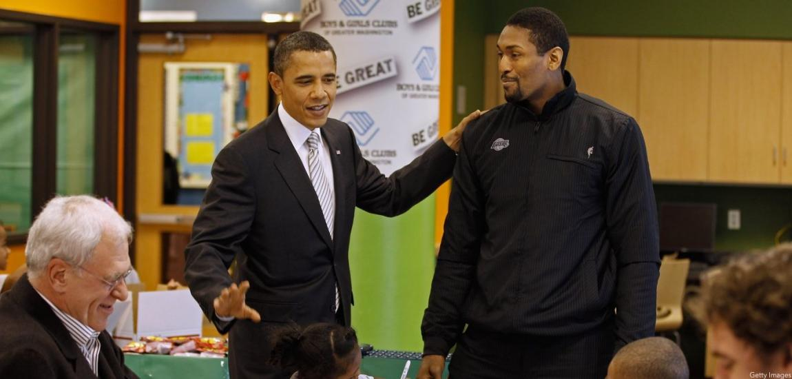 Metta World Peace, Barack Obama