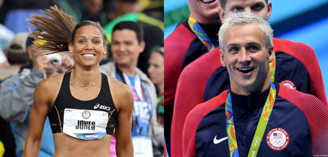 Lolo Jones, Ryan Lochte