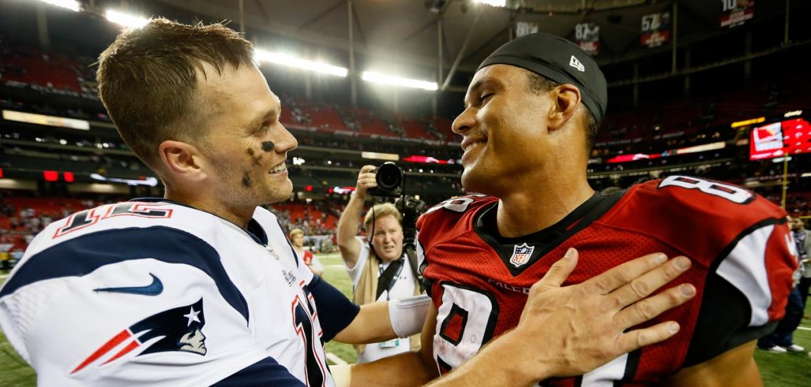 Tom Brady, Tony Gonzalez