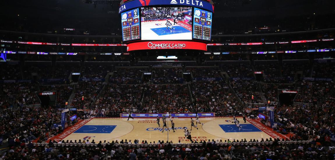 Los Angeles Clippers At Staples Center