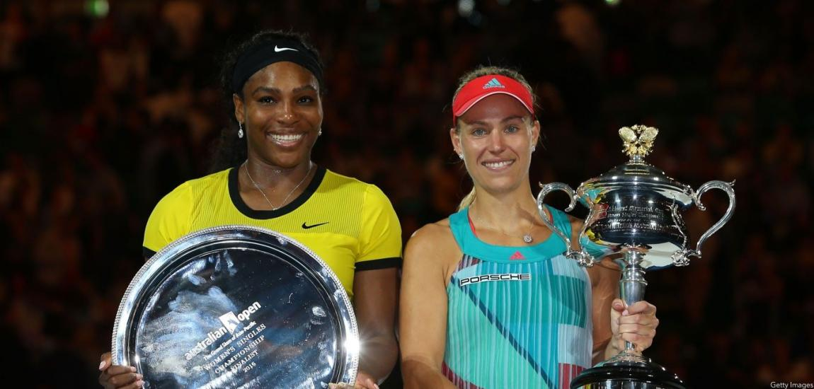 Angelique Kerber, Serena Williams