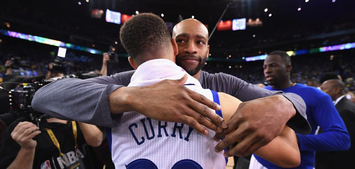 Stephen Curry, Vince Carter