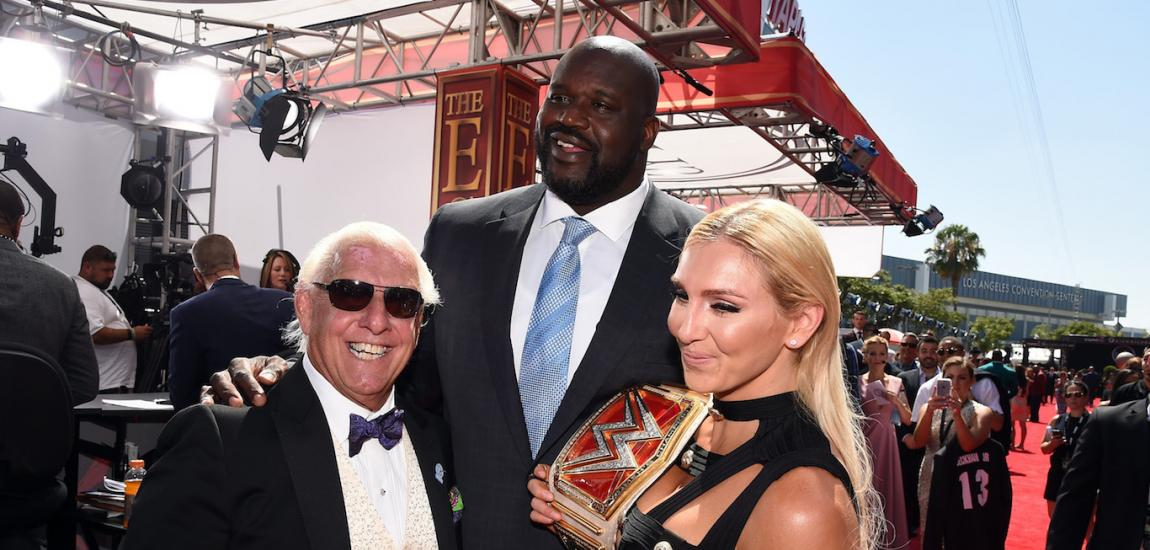 Shaquille O'Neal, Ric Flair, Charlotte
