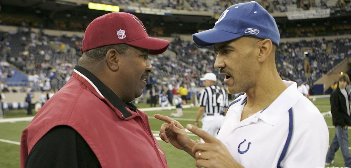 Dennis Green, Tony Dungy