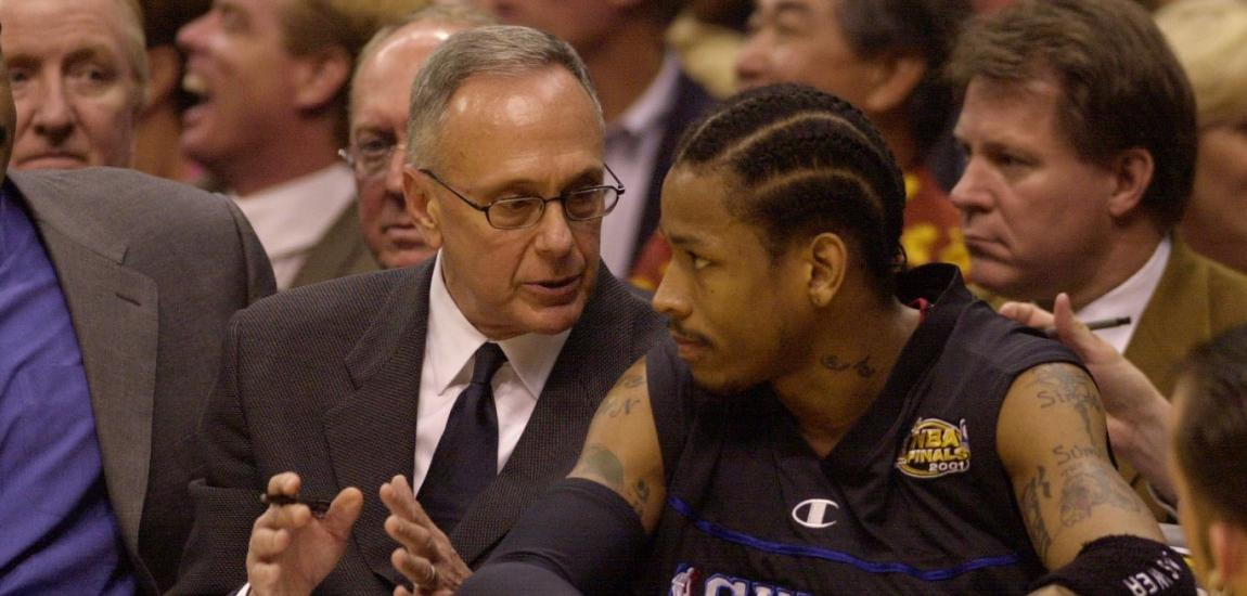 Larry Brown, Allen Iverson