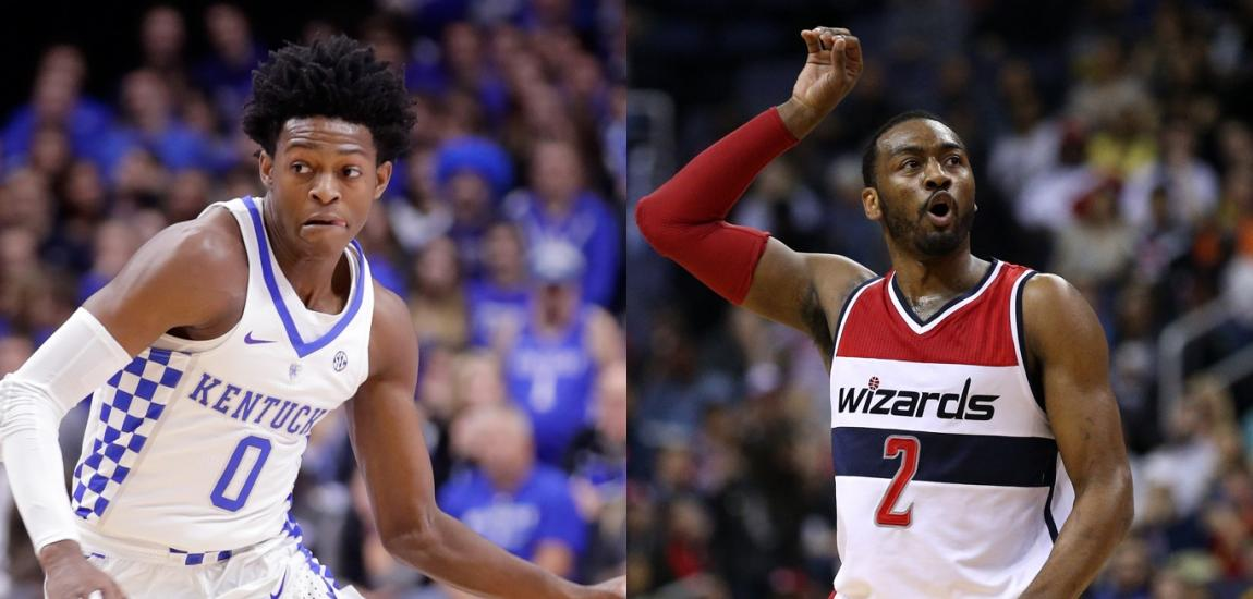 De'Aaron Fox, John Wall