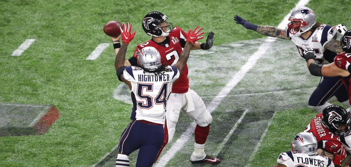 Dont'a Hightower Hits Matt Ryan