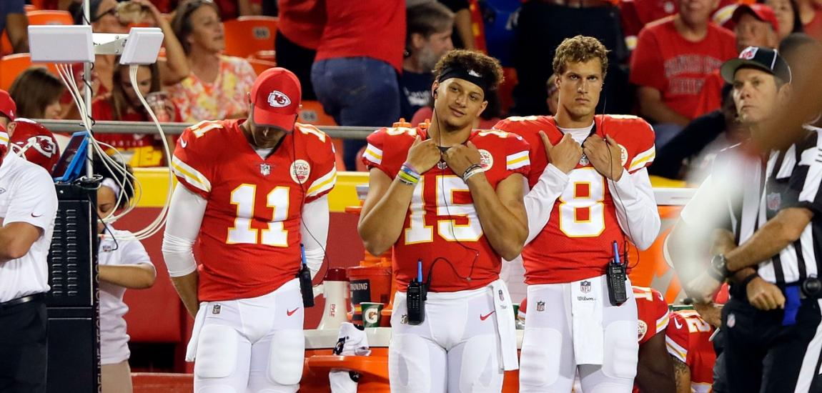 Alex Smith, Patrick Mahomes